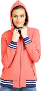 Moda Elementi Full Sleeve Solid Women's Sweatshirt
