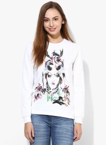 Vero Moda Full Sleeve Printed Women's Sweatshirt