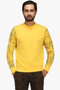 Flippd Full Sleeve Solid Men's Sweatshirt