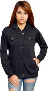 HARDIHOOD Sleeveless Solid Women's Sweatshirt