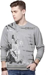 Roadster Full Sleeve Printed Men's Sweatshirt