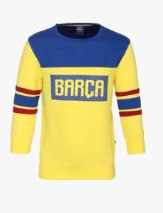 c7abb55cb FC Barcelona Full Sleeve Printed Boys Sweatshirt Best Price in India ...