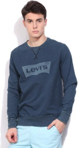 Levi's Full Sleeve Printed Men's Sweatshirt