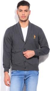 U.S. Polo Assn. Full Sleeve Solid Men's Sweatshirt