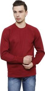 Casual Tees Full Sleeve Solid Men's Sweatshirt
