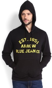Arrow Sport Full Sleeve Solid Men's Sweatshirt