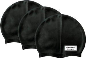 DeNovo Imported Set of 3 Swimming Cap