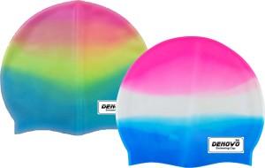 DeNovo Imported Set of 2 Swimming Cap
