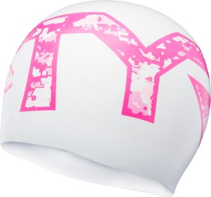 TYR Pink Silicone Swimming Cap