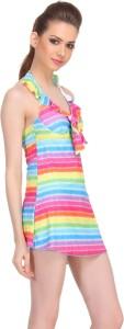 Clovia Striped Women's Swimsuit