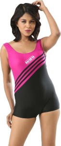 Fascinating Striped Women's Swimsuit