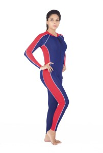 8a8dcb18d3ecf7 Attiva Unisex Skating Suit Full Sleeves Full Length Solid Women's Swimsuit