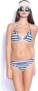 Mast & Harbour Premium Striped Women's Swimsuit