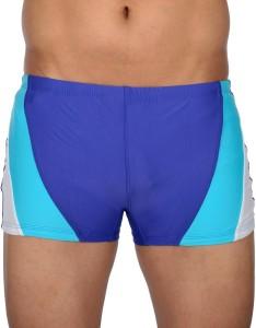 AquaChamp AquaChamp Swimwear - Export Quality - Blue Swim Trunk for Men/Boys - 1706 Solid Men's Swimsuit