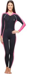 Attiva Skating Suit Solid Women's Swimsuit