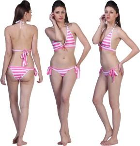 Fascinating Fashion Striped Women's Swimsuit
