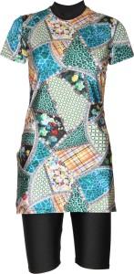 Rovars Floral Print Women's Swimsuit