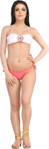 N-Gal Beautiful Halter Bikini Set Solid Women's Swimsuit