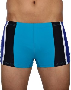 AquaChamp Swimwear - Export Quality - Green Swim Trunk for Men/Boys - 1701 Solid Men's Swimsuit