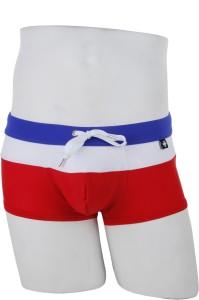 Andrew Christian Striped Men's Swimsuit