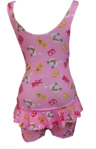 Hydra Fashion Printed Girls Swimsuit