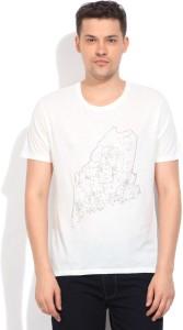 a2f790a11c629d Gant Solid Men s Round Neck White T Shirt Best Price in India | Gant ...