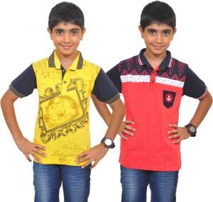 60708d67c Pari Prince Boys Printed T Shirt Multicolor Best Price in India ...