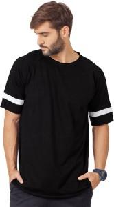 5315a59c56 Bewakoof Solid Men s Round Neck Black T Shirt Best Price in India ...