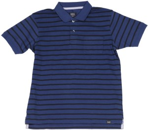 383df5af30 Indian Terrain Boys Striped Cotton T Shirt Blue Best Price in India ...