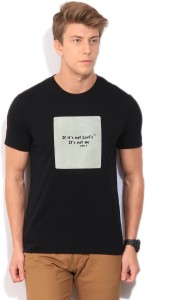 7c9c9807 Levi s Printed Men s Round Neck Black T Shirt Best Price in India | Levi s  Printed Men s Round Neck Black T Shirt Compare Price List From Levi s T ...