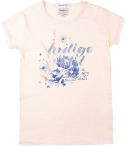 Pepe Jeans Girls Printed T Shirt Pink Pack Of 1 Best Price In India