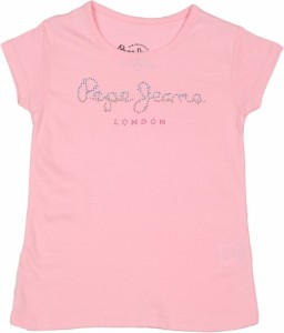 Pepe Jeans Girls Solid T Shirt Pink Pack Of 1 Best Price In India