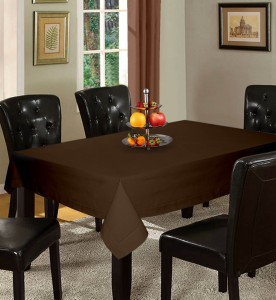Lushomes Solid 8 Seater Table Cover