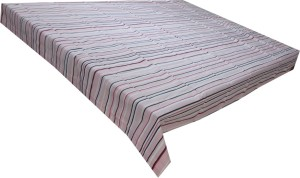Adt Saral Striped 6 Seater Table Cover