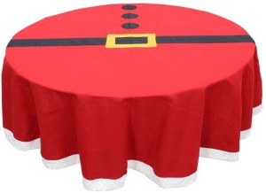 Adt Saral Plaid 4 Seater Table Cover