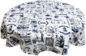 Adt Saral Printed 4 Seater Table Cover