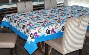 Lushomes Printed 12 Seater Table Cover