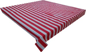 Adt Saral Striped 4 Seater Table Cover