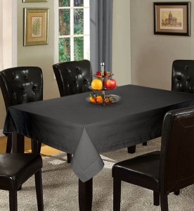 Lushomes Solid 4 Seater Table Cover