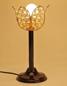 Being Nawab Designer Gold Lotus Table Lamp