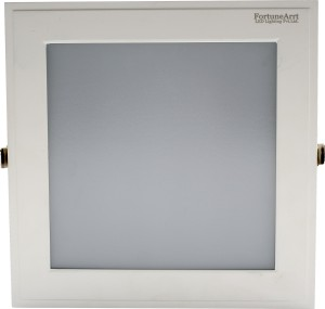 size 40 5449b bef92 FortuneArrt 18 Watt Square LED Panel light (Warm White) Night Lamp31 cm,  White