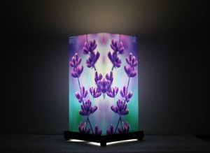 9 Gifts Lavender Flower Table Lamp