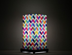 9 GIFTS multicoloured waves Table Lamp