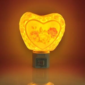 Cortina Round Design 003 Night Lamp 11 cm White Best Price in India ...