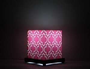 9 Gifts Moroccan Pink Table Lamp