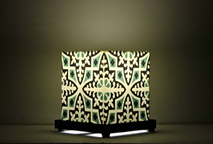 9 Gifts Symmetrical Designs Table Lamp