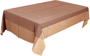 Dhrohar Checkered 4 Seater Table Cover