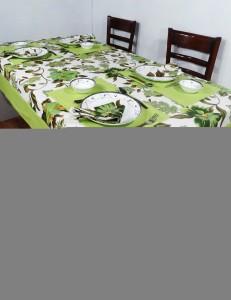 Heritage Fabs Green Organic Cotton Table Linen Set