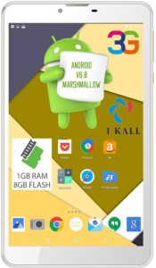 I Kall IK2 (1GB+8GB) Dual Sim 3G Calling Tablet 8 GB 7 inch with Wi-Fi+3G