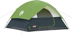 Coleman Sundome 6 Person Tent - For 6 People Size: 10 Feet X 10 Feet : Centre Height 6 Feet